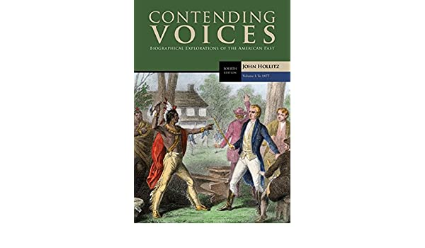 Contending voices volume i to 1877 john hollitz 9781305655935 contending voices volume i to 1877 john hollitz 9781305655935 amazon books fandeluxe Gallery