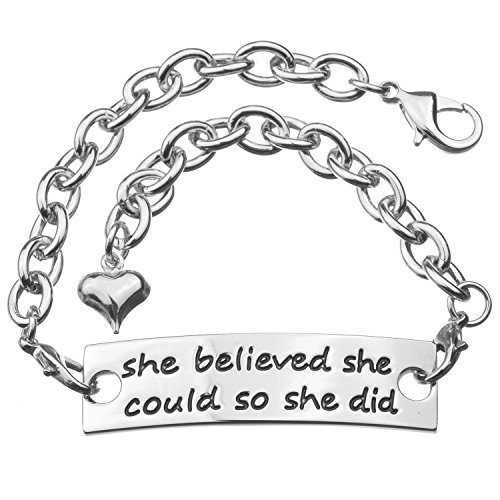 Inspirational Metal Bracelet