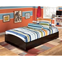 Signature Design by Ashley Embrace Merlot Twin Loft Caster Bed