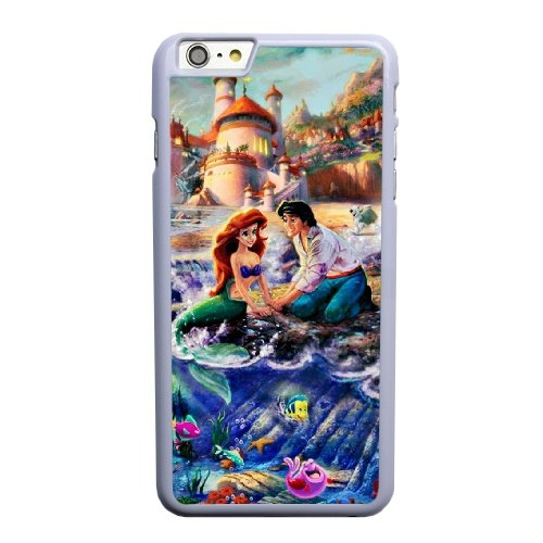 Coque,Coque iphone 6 6S 4.7 pouce Case Coque, Thomas Kinkade Disney Puzzles Cover For Coque iphone 6 6S 4.7 pouce Cell Phone Case Cover blanc