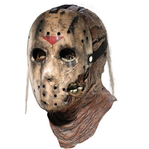 Jason Part 7: New Blood Deluxe Mask Costume Accessory]()