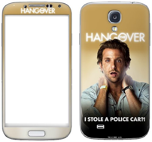 Zing Revolution The Hangover Premium Vinyl Adhesive Skin for Samsung Galaxy S4, Phil - The Phil Hangover