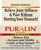 Puralin Homeopathic Arthritis Formula — 60 Tablets