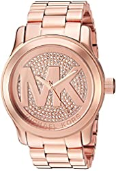 Michael Kors Women's MK5661 Analog Display Quartz Rose Gold Watch