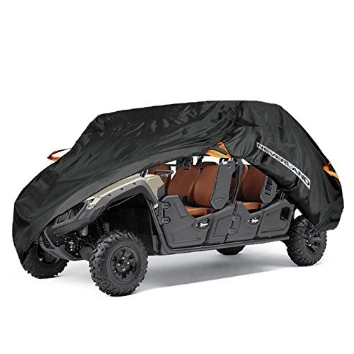 - NEVERLAND UTV Cover,Waterproof Heavy Oxford Material for Yamaha Viking VI Ranch Can Am Maverick Arctic Cat Textron Off Road 4-6 Passenger