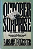 October Surprise, Barbara Honegger, 0944276466