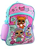 L.O.L Surprise! 5 Piece Backpack School Set (Blue/Pink)