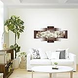 prestigeart-Bilder-Blumen-Orchidee-Wandbild-Vlies-Leinwand-Bild-XXL-Format-Wandbilder-Wohnzimmer-Wohnung-Deko-Kunstdrucke-Bunt-5-Teilig-100-MADE-IN-GERMANY-Fertig-zum-Aufhngen-205452a