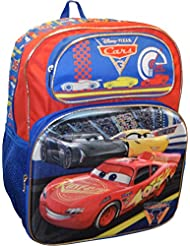 Disney Pixar Deluxe 16 School Backpack With Amazing 3D Pop-Up Artworks