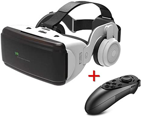 Xfc VR Realidad Virtual, Gafas 3D Stereo Box VR Headset Casco para ...