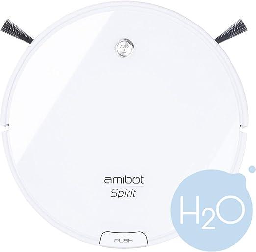 AMIBOT Spirit Ice H2O – Robot Aspirador y friegasuelos: Amazon.es ...