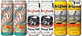 arizona iced tea cans - Arizona Variety Pack Special! Peach, Sweet Tea, RX Energy, 23 oz Can (Total of 6 Cans)