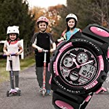 Girls Digital Watches Ages Age 5-15, Pink Digital