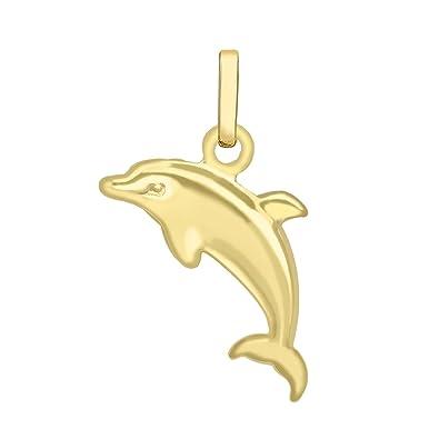 Carissima gold 9 ct yellow gold dolphin charm pendant amazon carissima gold 9 ct yellow gold dolphin charm pendant aloadofball Gallery