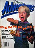 img - for DISNEY ADVENTURES THE MAGAZINE FOR KIDS, AUGUST 1993 (DENNNNIS!, #10) book / textbook / text book