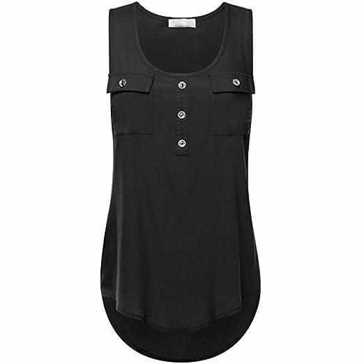 1df4bcbdd9e6 Women Loose Plus Size Vest, Rakkiss Women's Casual T-Shirt O-Neck Sleeveless