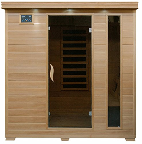 Monticello - 4 Person Carbon Heatwave™ Sauna - Free Shipping!