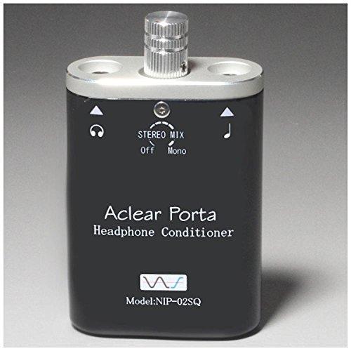 中村製作所 ヘッドホンアンプDAC AClear Porta NIP-02SQ(BK) [マットブラック]   B00DWPU898