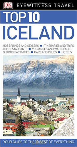 Top 10 Iceland (Eyewitness Top 10 Travel Guide) cover