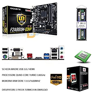 Bundle tarjeta HDMI USB + CPU QuadCore 4.2 GHz, Radeon HD ...