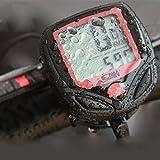 Ferrell Resistente al Agua de montaña Ciclismo Bike Sport–Telémetro Digital de LCD de Ordenador velocímetro Cronómetro