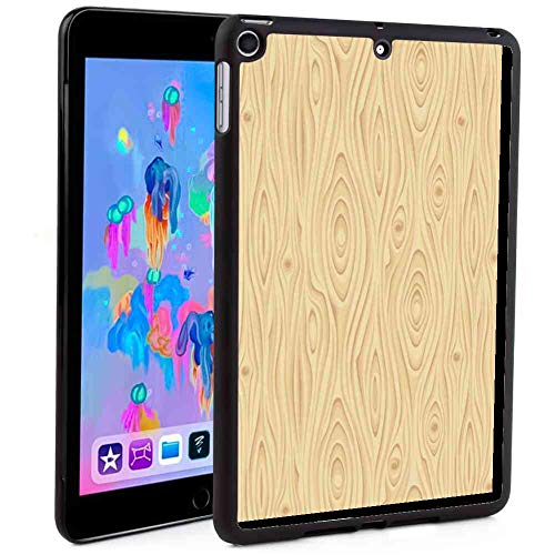 (Case for 2018 iPad Mini 5 [2018] 7.9in Beige Wooden Texture Pattern Grains of Wood Natural Tree Growth Lines of Nature Organic Theme Cream )