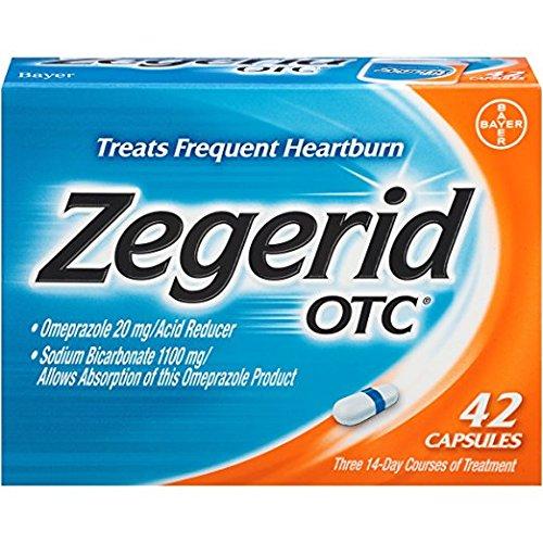 Zegerid OTC Capsules, 42-count (Pack of 5) XZ&TT