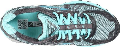 Brooks - Scarpe da corsa Adrenaline ASR 9-W Donna, Gris/Bleu, 44.5