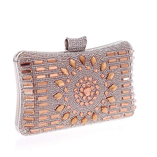 Clubs Handbag Handbags Jxth Occasion Purse Purse Crystal Gold amp; Wedding Evening for Women Clutch Special Color Evening Clutch Bag Clutches Party Blue Bags Evening ffwFERq