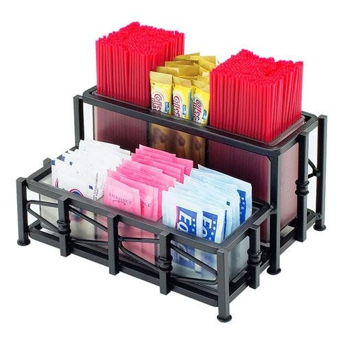 Cal-Mil 1252 Iron Packet Organizer, Iron, 6.75'' Length x 8.5'' Width x 4'' Height, Black