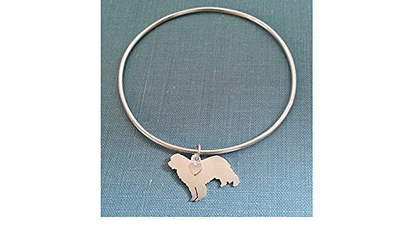 Newfoundland dog bracelet Newfoundland jewelry I love my Newfoundland Newfoundland bangle Newfoundland gift dog mom gift