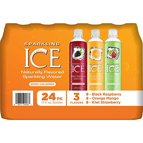 Sparkling ICE Sparkling Water, Variety Pack (17 oz., 24 pk.) (pack of 6) by Sparkling ICE