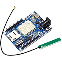 WHDTS A7 GSM GPRS GPS Module 3 in 1 Module Quad Band GSM/GPRS IPEX Antenna DC 5-9V Support Voice Short Message for Arduino STM32 51 Microcontroller MCU