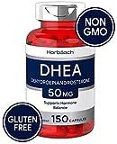 Best Dhea 50 Mgs - Horbaach DHEA 50mg 150 Capsules   Non-GMO, Gluten Review