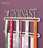 Gymnastic medal display double hanger