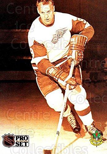 (CI) Gordie Howe Hockey Card 1991-92 Pro Set (base) 344 Gordie Howe ()
