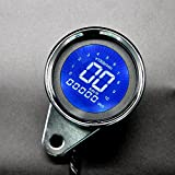 Heart Horse Tachometer Oil Fuel Gauge Universal fit for all motorcycles with DC 12V with Liquid Crystal Indicator Display