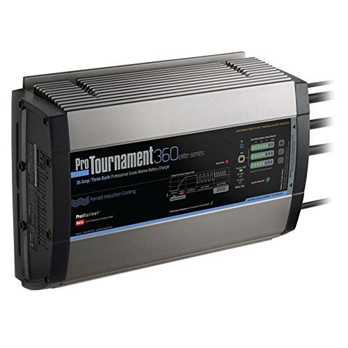 Promariner 52036 Pro Tournament 360 Elite Triple Charger - 36 Amp, 3 Bank by ProMariner by ProMariner