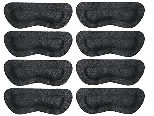 Premium Leather Heel Pads Grips Liners Inserts for...