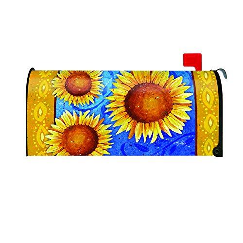 Toland Home Garden Sweet Sunflowers Decorative Mailbox