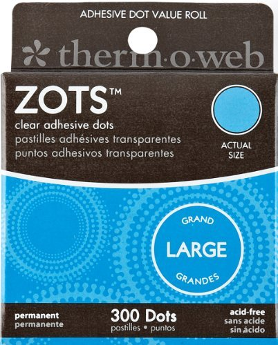 therm.o.web Memory Zots Large Bx/300 by THERMOWEB