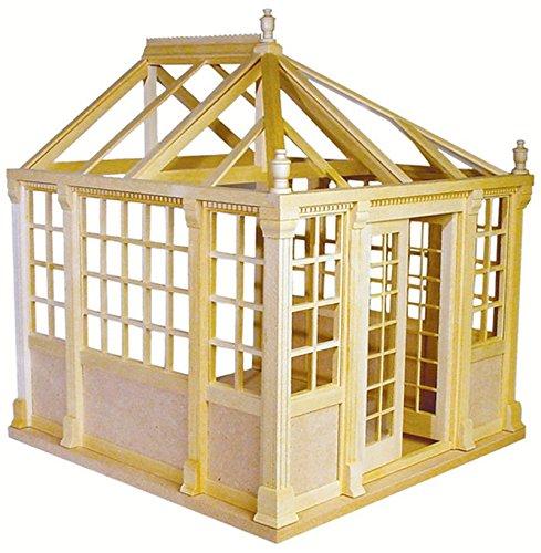- Dollhouse Kit - Houseworks Unfinished Conservatory Kit