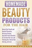 MORE THAN 130 NATURAL TOXIN-FREE DIY HOMEMADE HAIR CARE BEAUTY RECIPES!  In this book you will find a wide variety of natural beauty and healing recipes for silky soft vibrant and shiny hair: - Universal nourishing hair masks; - Hair repair ...
