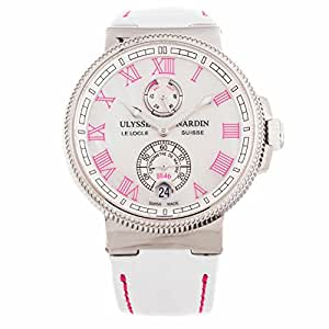 Ulysse Nardin Marine Chronometer automatic-self-wind womens Watch 1183-126B/470 (Certified Pre-owned)