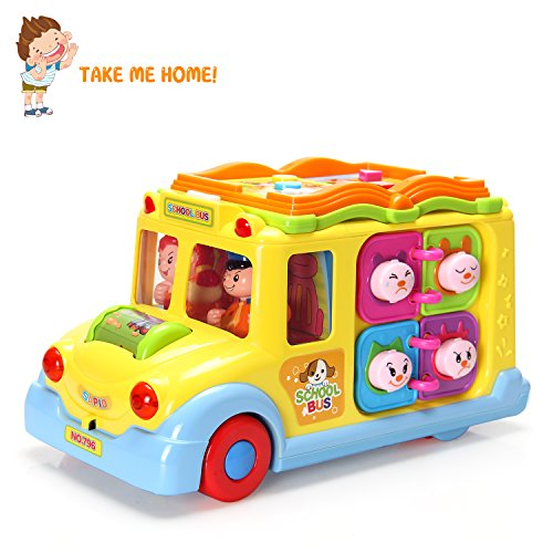 Homofy Actrinic Baby Toys Early Educational Intellectual Little Vehicle