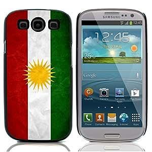 Graphic4You Vintage Kurdish Flag of Kurdistan Design Hard Case Cover for Samsung Galaxy S3 S III