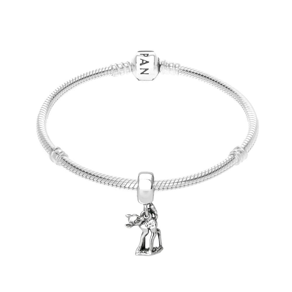 b5e0b5c5b Amazon.com: Pandora Sterling Silver Disney's Bambi Dangle Charm 796462:  Watches
