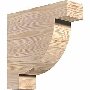 "Ekena Millwork RFT04X12X12ALP00SDF Alpine Smooth Rafter Tail, 3 1/2"" Width by 12"" Height by 12"" Length, Douglas Fir"