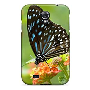 Galaxy S4 Sog2098NdeJ Butterfly Tpu Silicone Gel Case Cover. Fits Galaxy S4