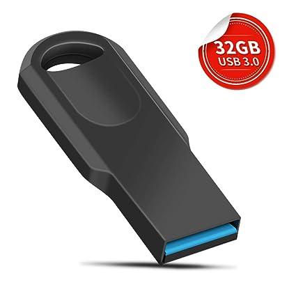 Memoria USB 3.0 de 32 GB con Caja de Embalaje y Llavero ...